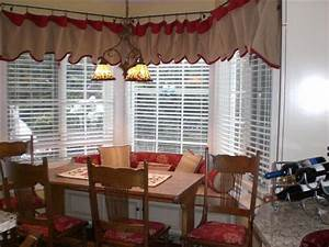 miscellaneous window treatment ideas for kitchen bay With kitchen bay window coverings