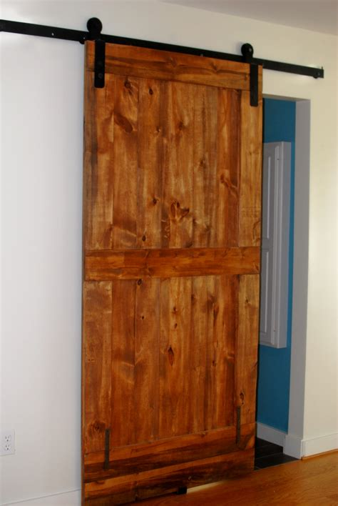 Barn Door Hardware Kit by Sliding Barn Door Hardware Kits Made From Your Dimensions Any