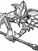 Coloring Pages Yugioh Dark Magician Yu Gi Oh sketch template