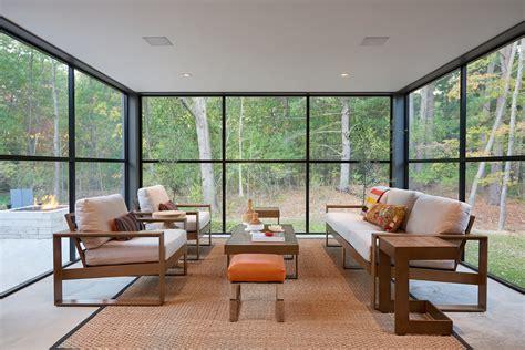 irresistible modern sunroom designs   secure