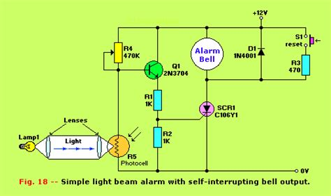 photodiode light detector circuit photodiode alarm circuit diagram circuit and schematics