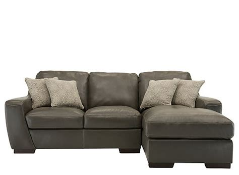 carpenter 2 pc leather sectional sofa sectional sofas