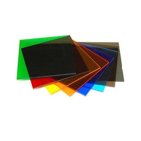 blue and tinted acrylic sheet rs 100 kilogram