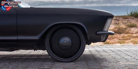 Buick Riviera Us Mags Plain Jane-u601 Wheels Matte Black