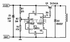 Lm723 Voltage Regulator Circuit Diagram Consisting Of Cars