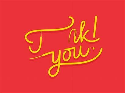 Thank Dribbble Animation Thanks Animated Powerpoint Presentation