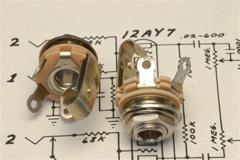 1 4 Input Wiring by Switchcraft Premium Mil Spec 1 4 Quot Input For