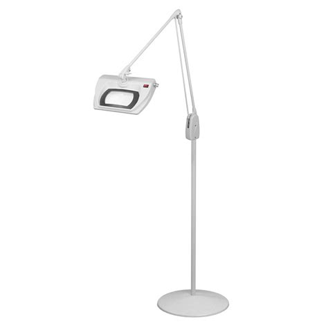 Magnifying Floor L 10x by Dazor Led Stretchview Pedestal Floor Stand Magnifier