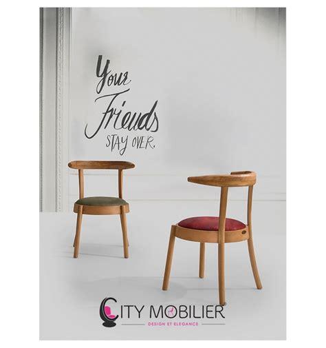 chaise de restaurant chaise cosy en bois lagoon city mobilier