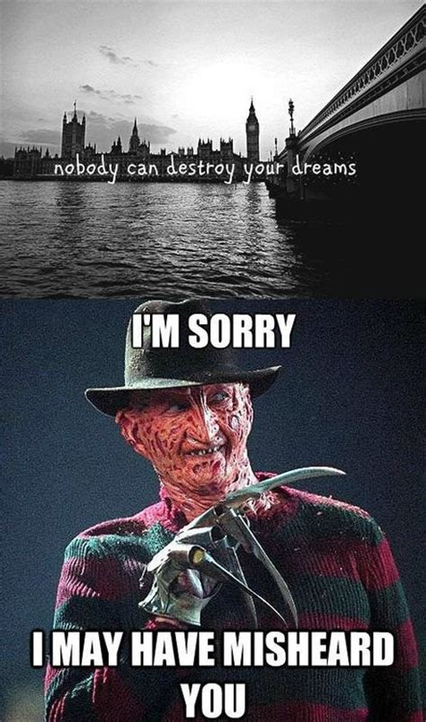 Freddy Krueger Meme - a nightmare on elm street movies the 10 best freddy krueger meme s