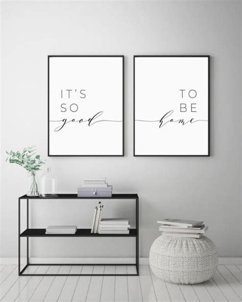 good   home printable sign set bedroom quote