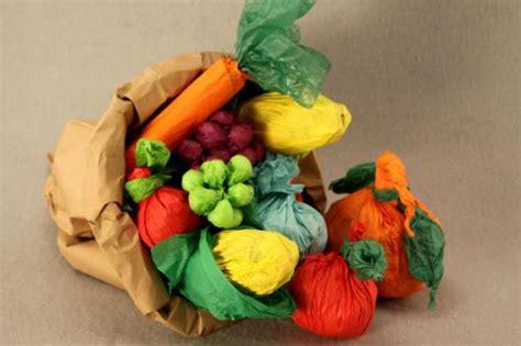 paper bag cornucopia