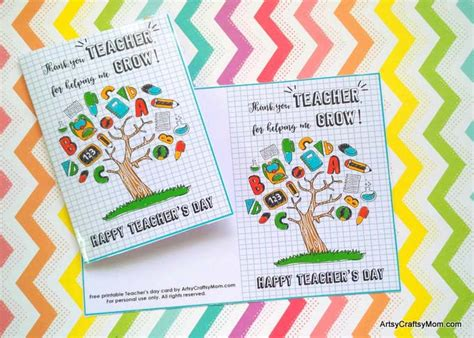 Gift cards are a perfect gift and these teacher appreciation printables make it easy! Free Printable Teacher Appreciation Cards