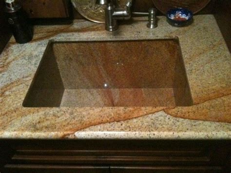 hand crafted granite sink by ellison tile and stone custommade com