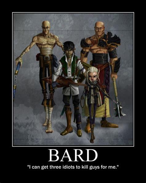 D D Bard Memes - the looney dm bards