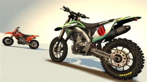 Kawasaki Kx Modification by Gta 4 Kawasaki Kx 450 F Supermoto Stock Mod Gtainside