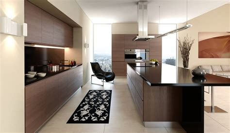 Stylish Interior For Minimalist Kitchen Design With Cool