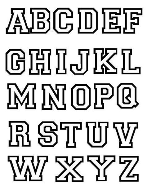 moldes grandes de letras mayusculas para imprimir imagui para decorar tipog