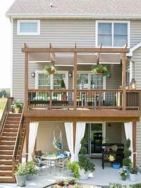 best second floor patio design ideas Best 25+ Second story deck ideas on Pinterest   2 story ...