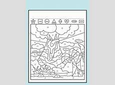 Color the Shapes Worksheet Loving Printable