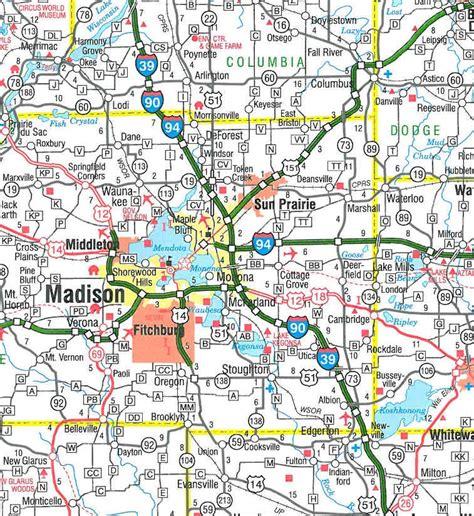 TheMapStore | Wisconsin State Highway Map