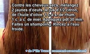 Recette Masque Cheveux Secs : un soin naturel de grand m re pour cheveux secs et cassants ~ Nature-et-papiers.com Idées de Décoration