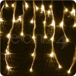 licht deko weihnachten led eiszapfen lichterkette 8m statisches licht deko weihnachten ebay