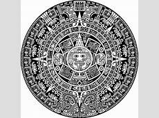 Vinilo Pixerstick Calendario azteca • Pixers® Vivimos