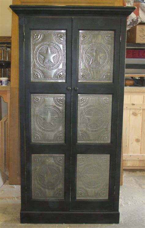 hand crafted punched tin taller  robinsons custom