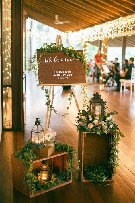 foyer tables ideas 20 brilliant wedding welcome sign ideas for ceremony and