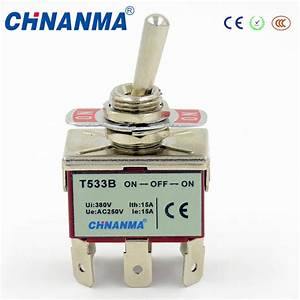 China 3 Pole Toggle Switches   3 Pole Double Throw Switch