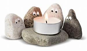 Bilder Mit Steinen Basteln : teelichthalter aus steinen basteln geolino ~ Orissabook.com Haus und Dekorationen