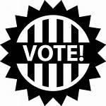 Vote Icon Voting Election Elections Clipart Political