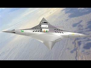 NASA Funds Supersonic Jet of the Future - YouTube
