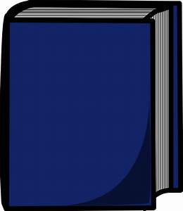 Blue Harcover Book Clip Art at Clker.com - vector clip art ...