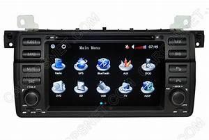 Bmw E46 M3 Gps Navigation Radio Dvd Head Unit Audio Stereo