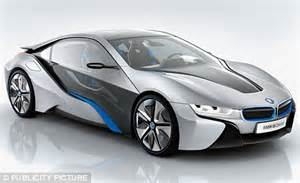 bmw reveals its shark like electric car daily mail