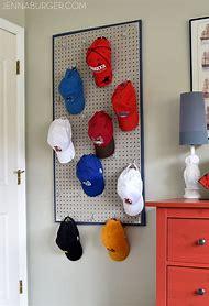 DIY Baseball Hat Storage Ideas