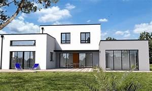 Maison cubique jeu de volumes et couleurs vannes enduit for Superb plans de maison moderne 0 maison cubique jeu de volumes et couleurs vannes depreux