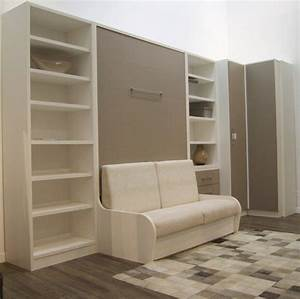 Lit Escamotable Armoire : lit armoire escamotable conforama latest vends with lit ~ Premium-room.com Idées de Décoration