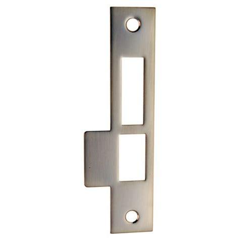strike plates for doors restorers classic exterior door lock 6 inch strike plate