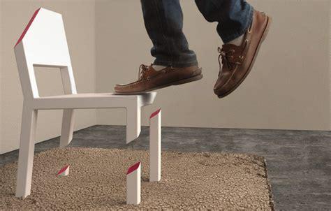 chaise sans pied cut chair bristol