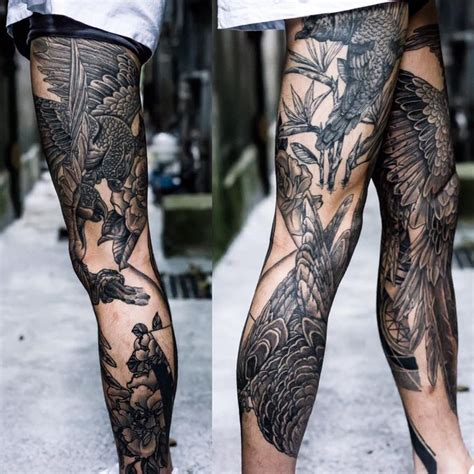 leg sleeve tattoos ideas  pinterest