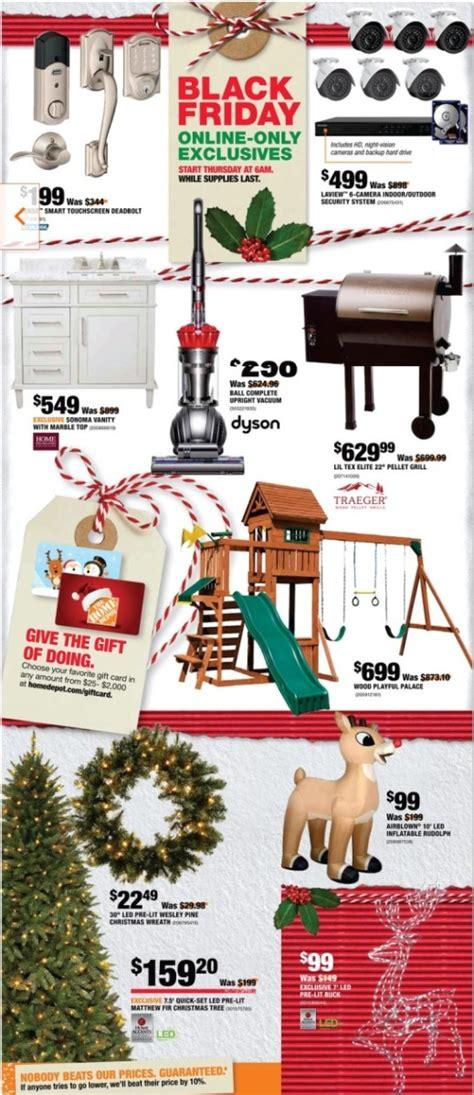 black friday christmas tree sales home depot home depot black friday ads sales deals doorbusters 2017 couponshy