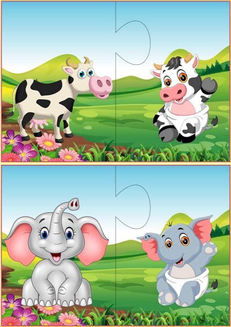 Puzzles Infantiles  Web Del Maestro