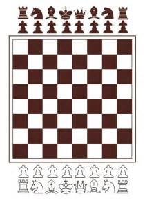 chessboard  pieces  print template  printable