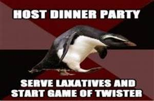 Socially Insane Penguin