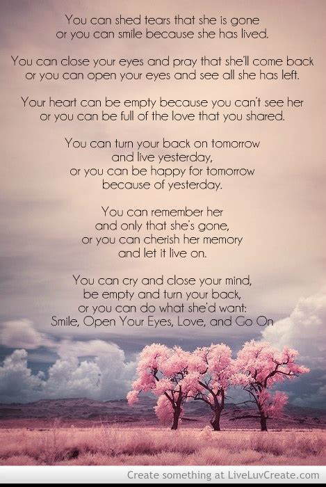 you can shed tears that she is david harkins remembrance quotes quotesgram
