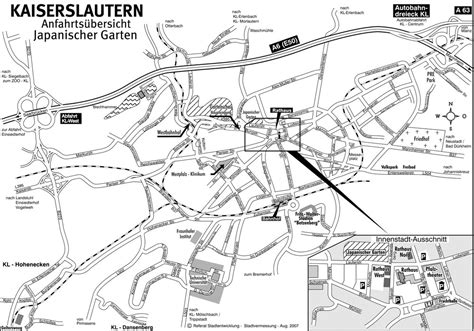 Japanischer Garten Kaiserslautern Anfahrt by Anfahrt Kontakt