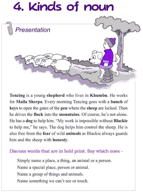 grade 4 grammar lesson 4 kinds of nouns grammar lessons